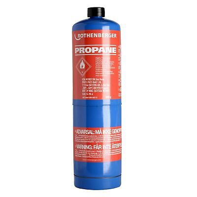 Rothenberger 35535 Propane Gas Cylinder For Jet Torch Quick Super Micro Brazing