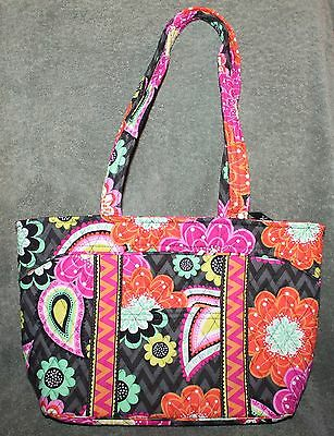 0b584be18a9d VERA BRADLEY LARGE Mandy Tote   Matching Snappy Wallet in Rhythm ...
