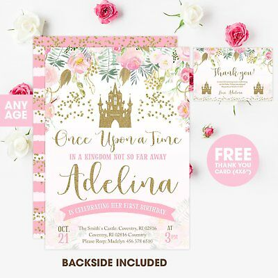 photograph relating to Printable Princess Invitations identified as PRINCESS BIRTHDAY INVITATION, Custom made Printable Bash Invitatation Invite