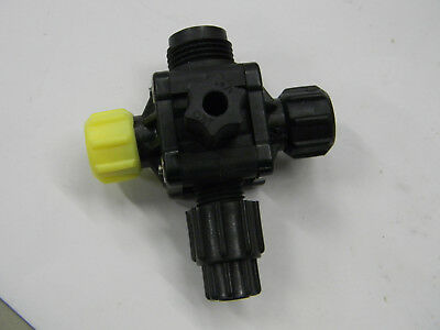 "New Milton Roy Four Function Valve 4FV 36275 1/4"" PVDF A5"