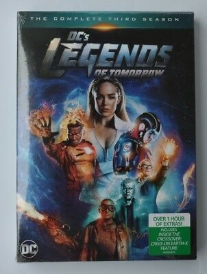 DC's Legends of Tomorrow: The Complete Third Season 3 (2018, DVD)