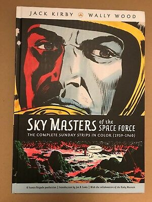 SKY MASTERS: THE COMPLETE SUNDAY STRIPS IN COLOR HC  OOP Jack Kirby Wally Wood