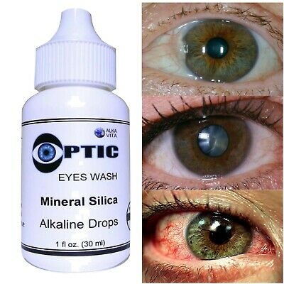 Eyes Pterygium Cataract Allergy Irritation Remedy OPTIC Silica Drops CERTIFIED