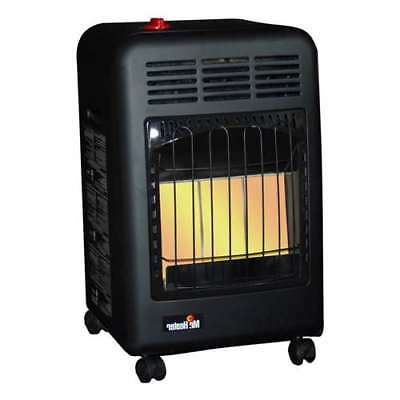 2bf4fd01c5 Mr. Heater 18000 BTU Radiant Propane Cabinet Outdoor Space Heater (Open Box)