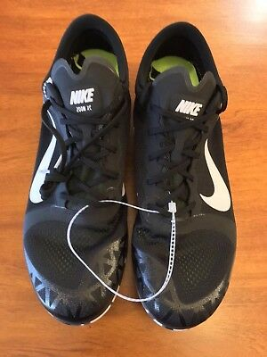 hot sale online a3c4d dbc58 Nike Zoom Rival XC Track   Field Running Spikes Black White Mens 12US  844132-