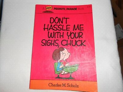 Lot of 2 Peanuts Parade Books Charles M. Schulz