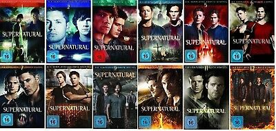 Supernatural Staffel 1-12 (1+2+3+4+5+6+7+8+9+10+11+12) DVD Set NEU OVP