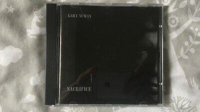 Gary Numan Sacrifice Extended Mixes CD (NUMACDX 1011 - 1995 Numa Records)