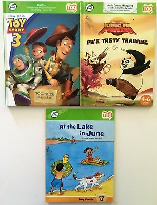 Leap Frog Tag Reader Interactive Books Lot of 3