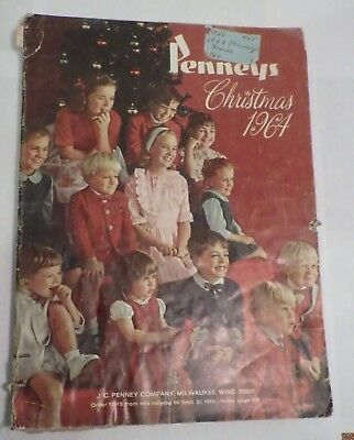 Vintage Penneys Christmas Catalog 1964 298 Pages Department Store