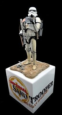 Expertly Built Bandai Sand Trooper in 1/12th scale from ModelerV Studios