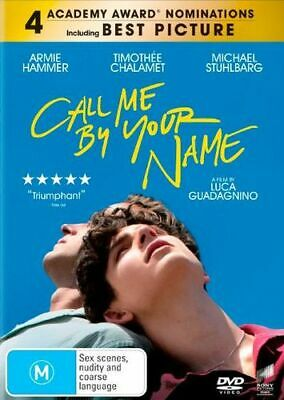 NEW Call Me By Your Name DVD Free Shipping