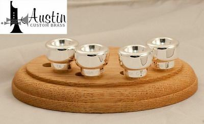 Austin Custom Brass  TA 1  Trent Austin Signature mouthpiece top