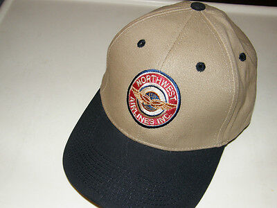 Northwest Airlines Baseball Cap Fathers Day Gift Nwa 1934 Airplane Pilot Delta