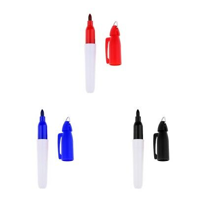 3Pcs 9cm PVC Golf Ball Liner Marker Pen Drawing Alignment Marks Putting Line