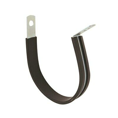 Tridon Hose Clamp Rubber Lined 22.2mm x 10pcs Pipe Cable Wires Clamp Zinc Plated