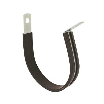 Tridon Hose Clamp Rubber Lined Stainless Steel 17.5mm x 10pcs Pipe Cable Clamps