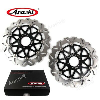 For DUCATI 748 R 2000 748 S 1999 - 2002 2001 Arashi Front Brake Disc Rotors