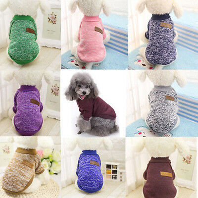 Pet Apparel Dog Cat Coat Jacket Winter Clothes Puppy Cat Sweater Clothing Coat `