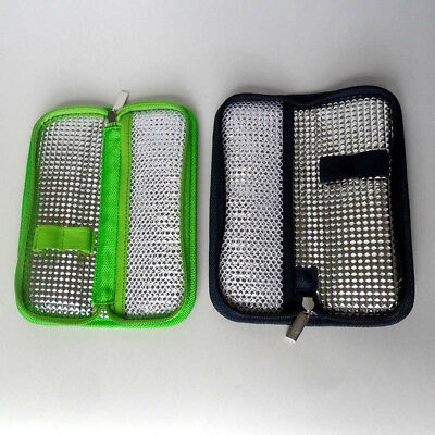 Chic Insulin Pen Case Pouch Cooler Diabetic Pocket Cooling Protector Zip Bag