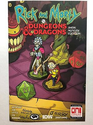 Rick and Morty vs Dungeons & Dragons GenCon Exclusive NM/M