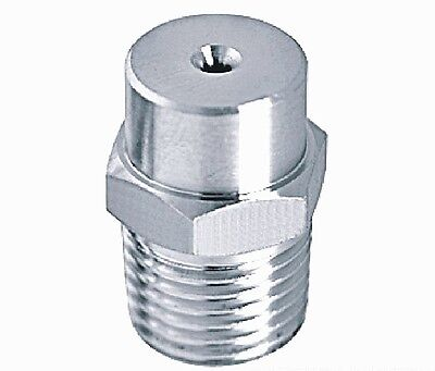 """1pc New Stainless steel spray nozzle 1/2"""" bspt"""