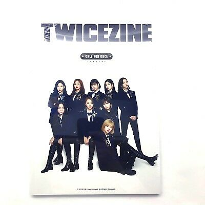 JYP Entertainment Twice Official Fan Club ONCE 2nd Generation Twicezine
