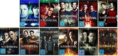 Supernatural Staffel 2-12 (2+3+4+5+6+7+8+9+10+11+12) DVD Set NEU OVP
