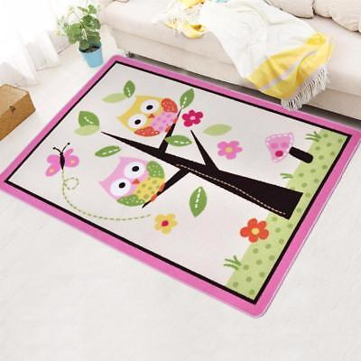 Cute Carpet Owl Tree Pattern For Kids Room Eco Friendly High Quality Decorations