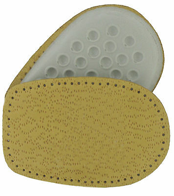Cushion Heel Pads Leather Upper