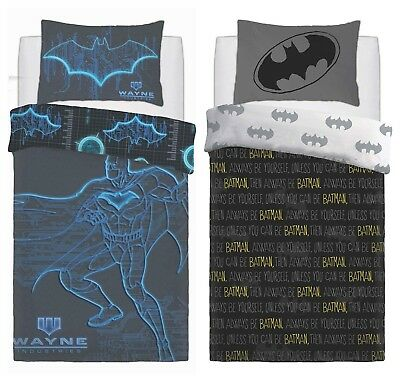Official DC Comics Batman Duvet Quilt Cover Bedding Sets - Single OR Double Bed