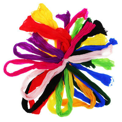 10x Colorful Nylon Stocking Making Artificial Mesh Flower Arrangement Stamen