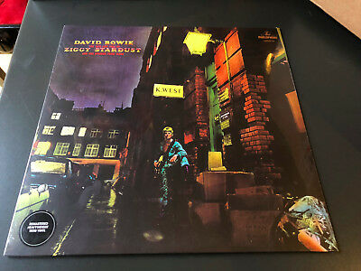 LP  RE 2016 180G    David Bowie ‎– The Rise And Fall Of Ziggy Stardust And The