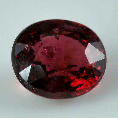 0.60ct Red Spinel. Well saturated with red flashes. Oval cut with great polish