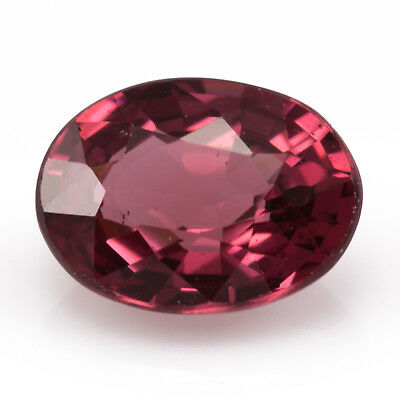1.34ct Rhodolite Garnet. Eye clean with great polish and amazing depth of colour