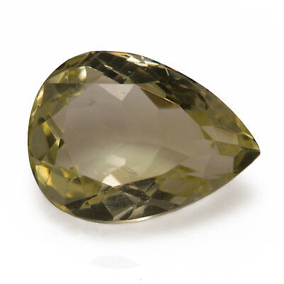 10.34ct Large Citrine. An eye clean gemstone with an excellent pear cut.
