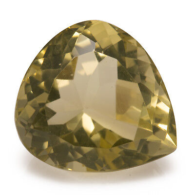19.38ct Large Citrine. An excellent pear cut on an eye clean yellow gemstone.