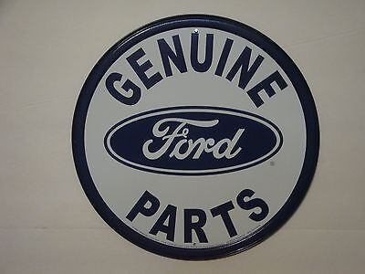 """Retro Vintage Style """"Genuine Ford Parts"""" Metal Sign Man Cave Decor S100"""
