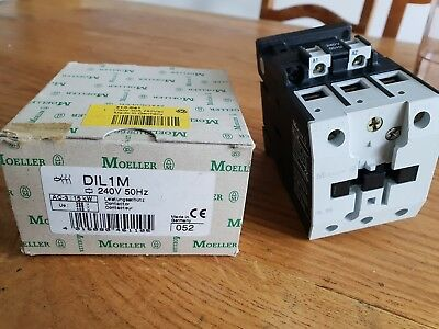 MOELLER DIL1M 240V 50Hz 15kW 30A CONTACTOR  NEW IN BOX