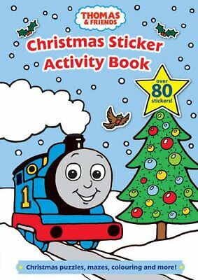 Thomas and Friends Christmas Sticker Activity Book (Thomas & F... Paperback Book