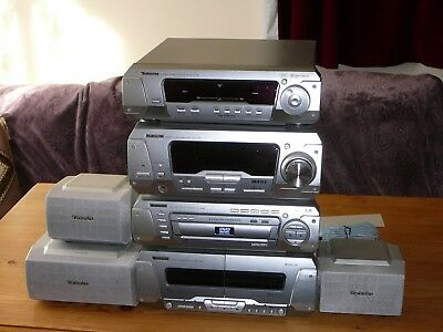 Technics DV-290 DVD Stacking HiFi Stereo System