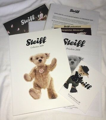 Steiff Collection Katalog 2009 & Clubmagazin Februar 2009, neuwertig