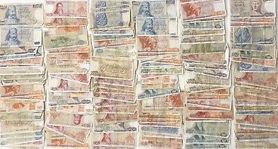 160 x Mixed Banknote Collection - GREECE ***BULK LOT***  (2294)