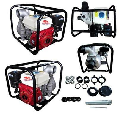 "Progen Powerful 4 Stroke Petrol Engine 3"" Water Pump 6.5 HP for Pools"