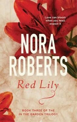 NEW Red Lily By Nora Roberts Paperback Free Shipping