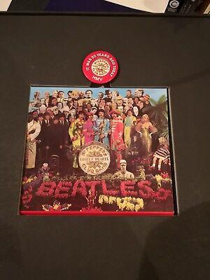 THE BEATLES Sgt.Peppers Lonely Hearts Club Band HMV CD Boxset 1987 *Numbered -