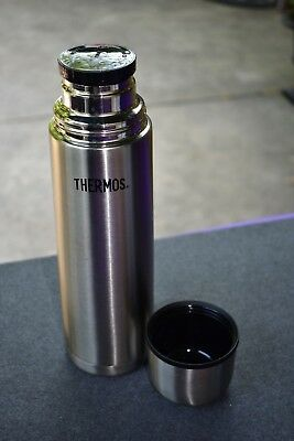 7a0a947f6b THERMOS VACUUM INSULATED Stainless Steel Compact Beverage Bottle 32 ...