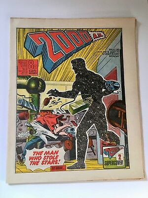 2000Ad Prog 20 (9 July 1977) Very Good Condition