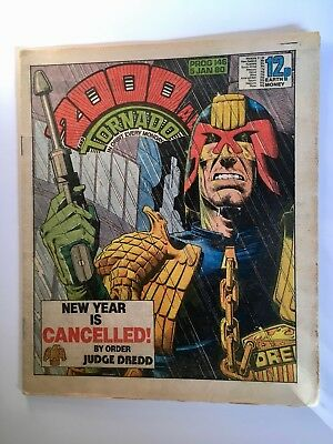 2000Ad Prog 146 (5 January 1980) Good Condition