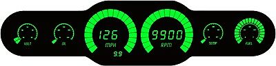 Universal Analog 6 gauge GREEN LEDs Bargraph Dash Kit